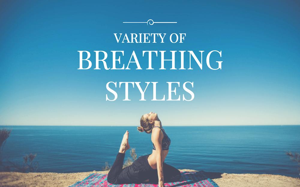 Variety of Breathing Styles